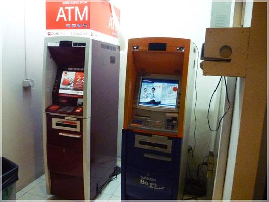 An diesen Geldautomaten kommt es zu einer folgenschweren Begegnung ...