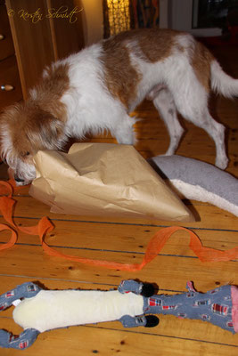 Die Verpackung war keine wirkliche Herausforderung für mich.