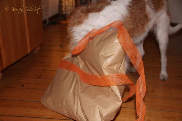 Ran an das Geschenk!