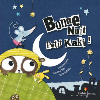 Un conte musical tout en douceur et poésie pour bercer les plus-petits ! Il a beau chercher partout, Petit Kaki n'arrive pas à trouver le sommeil… Son amie la souris vient l'aider.
