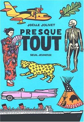 Joëlle Jolivet nous offre une formidable encyclopédie toute en image. Avec ce grand album, c'est d'abord l'accumulation des animaux, des outils ou des instruments qui frappe.