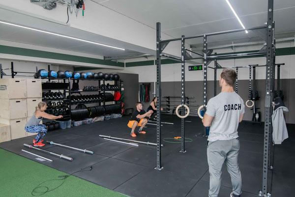 Hauptfläche für unsere CrossFit-Klassen