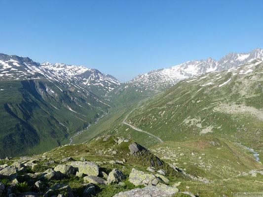 Col de Furka depuis Realp (Suisse)