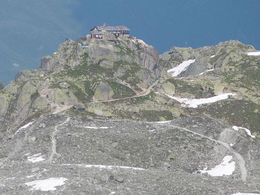 Le refuge Albert Heim Hütte SAC (Suisse)