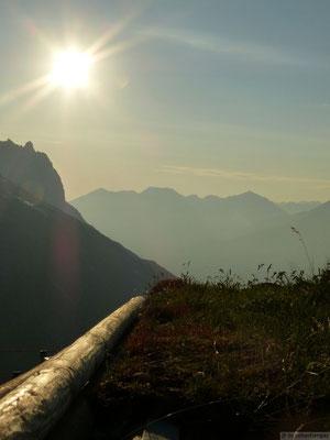 Levé de jour depuis le refuge Albert Heim Hütte SAC (Suisse)