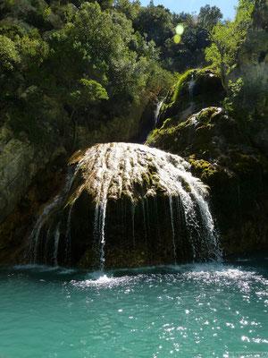 Cascade dans les Gorges du Verdon