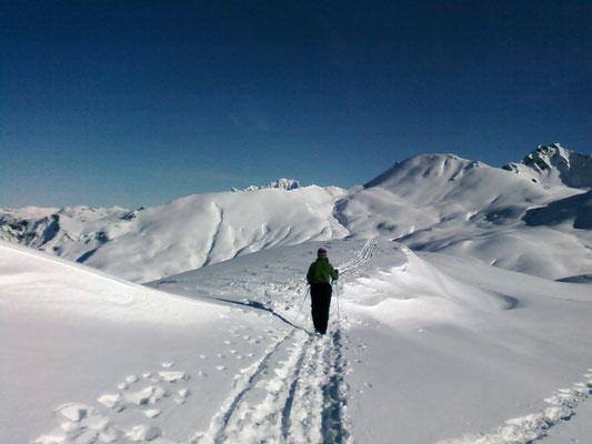 Rando au dessus du refuge du Nant du beurre (Beaufortain)
