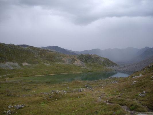 Au départ du lac des Cerces