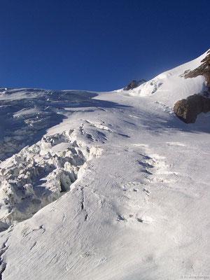 Le glacier que l'on empruntera demain