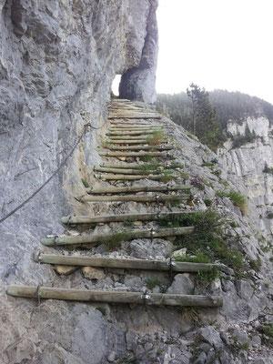 Escalier du Pas du Roc