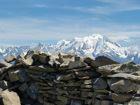 Vu depuis le sommet de Tête Pelouse