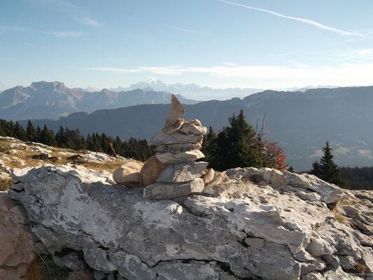 Au sommet du Semnoz