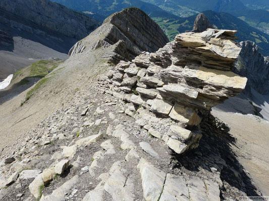 La roche est pas mal effilée quand même
