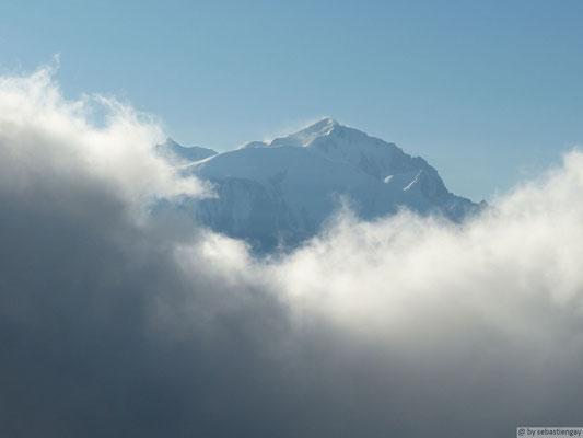 Le mont blanc joue à cache cache