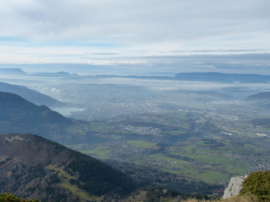Vu sur Annecy depuis le sommet du Parmelan