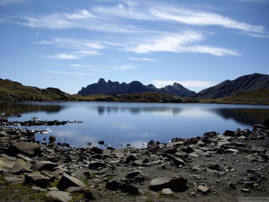 Lac de la mine (col du Chardonnet)