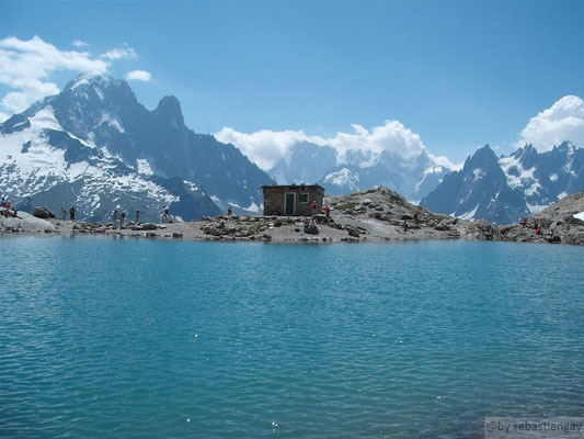 Lac blanc en août
