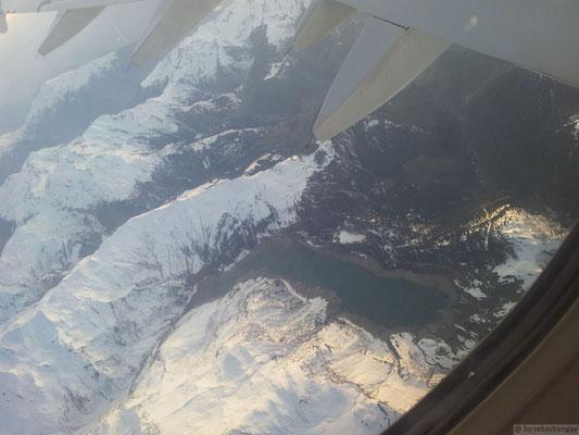 Lac et barrage de Roselend