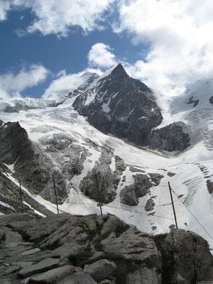 Le glacier Vera
