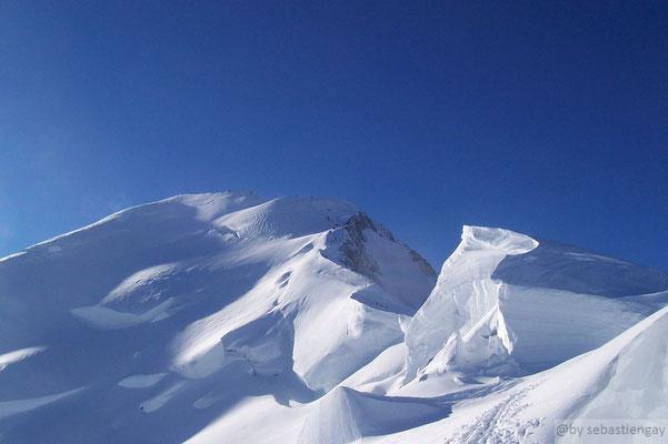 En montant au Mt Blanc