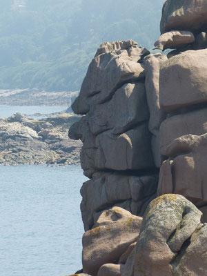 Les fameux rochers de Perros-Guirec