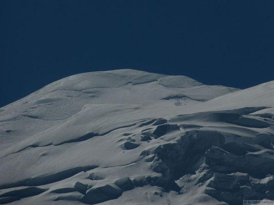Le sommet du Mt Blanc