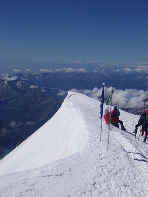 Le sommet (4554 m)