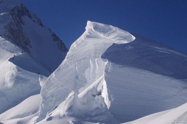 Iceberg en montant au Mt Blanc