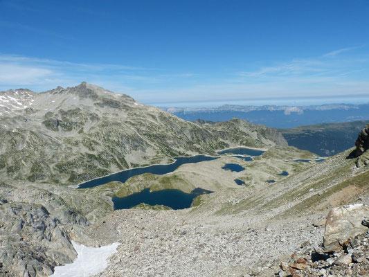 vue sur les lac blanc et cottepens