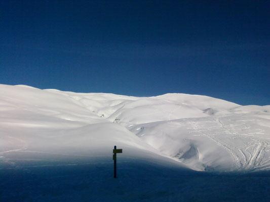 Vue depuis le refuge du Nant du beurre (Beaufortain)