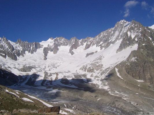 Vu sur le Mt Blanc