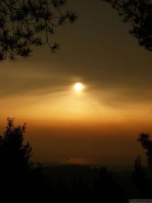 Lever de soleil sur Hyères