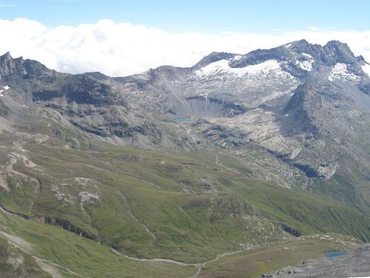 Vu depuis le sommet de l'Ouille noir