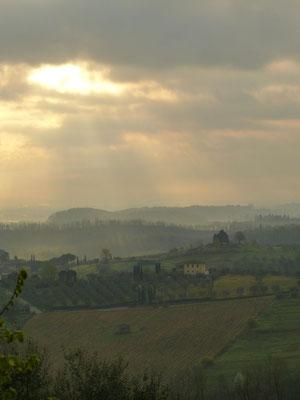 Belles couleurs en Toscane