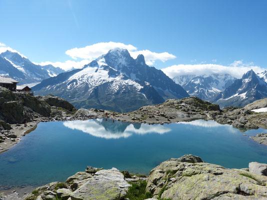 Nouveau ! Le lac blanc sans sa cabane (juillet 14)