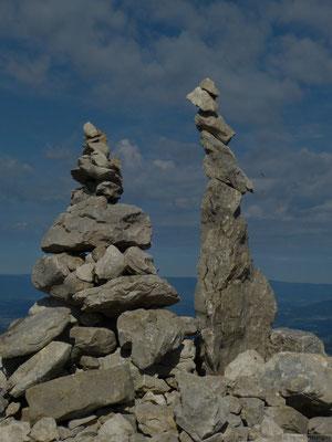 Au sommet du Parmelan