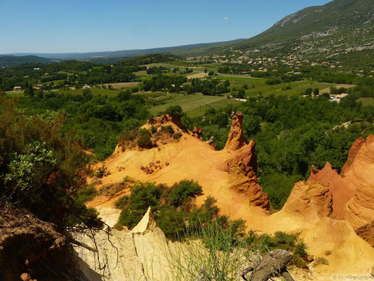Le Colorado Provençal de Rustrel (carrière d'Ocre)