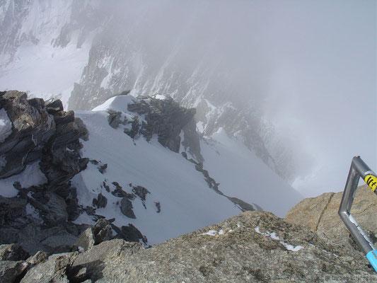 Vu depuis le sommet du Tacul
