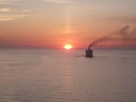 Lever de soleil depuis Ajaccio