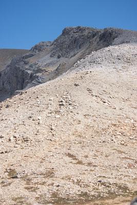 Aufstieg zum Mount Bourgeau
