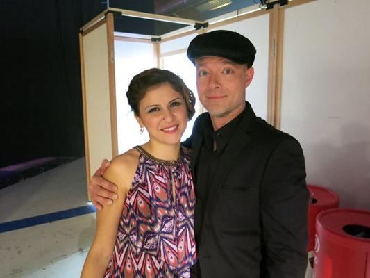 June Grey & Peter Brandenberger - Backstage