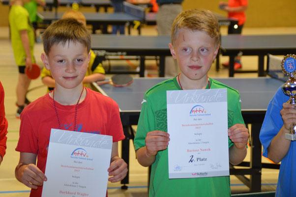 Bartoscz Nowek (links) - Zweiter Platz AK 2