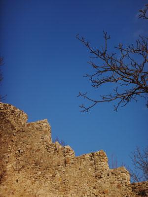 Une ligne de remparts, édifiée en 1360, est toujours visible. À leurs pieds se trouvent les Jardins de la Tour.