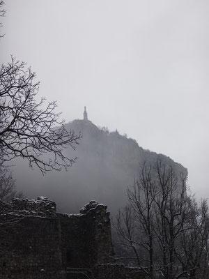 Le brouillard s'est installé