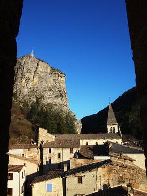 Photo prise depuis le clocher de l'église Sainte-Victor