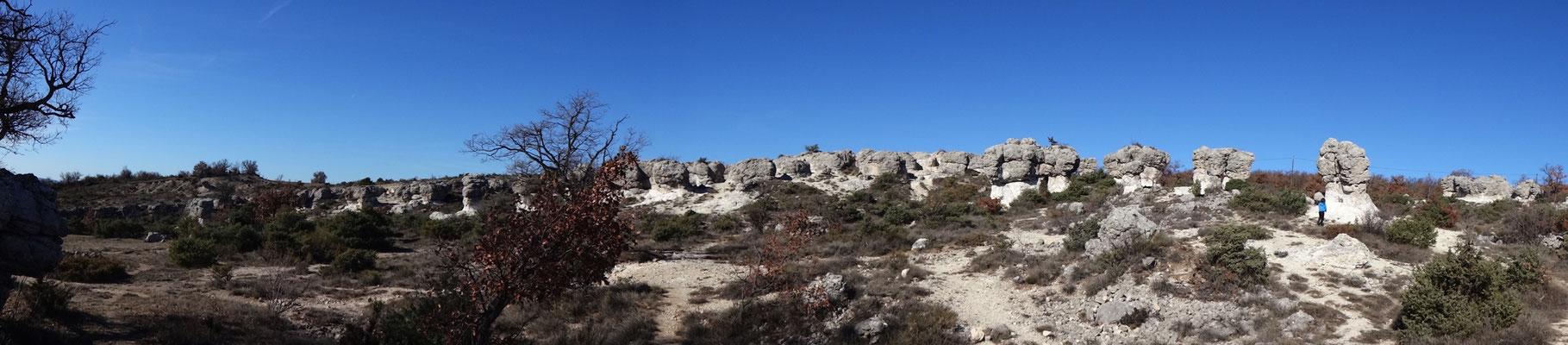 Les Mourres en panoramique