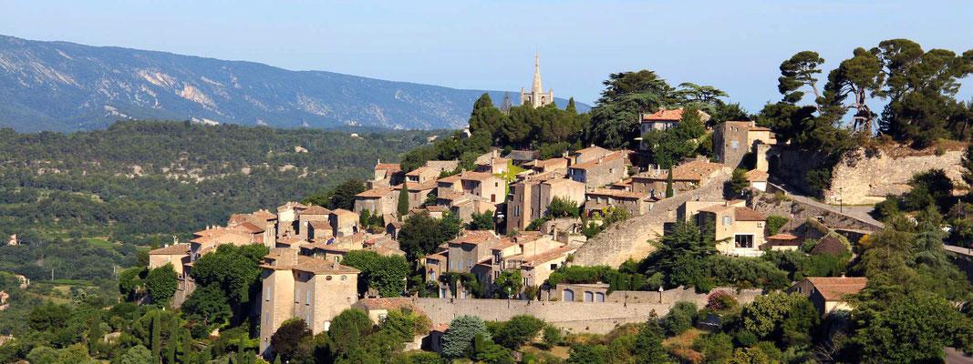 Vue panoramique du village