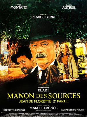 """A quelques centaines de mètres du chantier se trouve le centre village de Mirabeau ou de nombreuses scènes de """"Manon des Sources"""" de Claude Berri ont été tournées."""