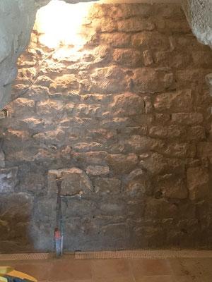 Murs rejointoyés