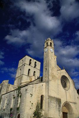 La cathédrale de Forcalquier